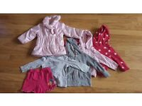 Baby girls clothes size 12-18 mths