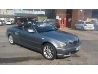 BMW 3 series cabrio 318ci (2.0l) stunning example only 90000 miles