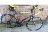 Limited edition carrera road bike TDFltd good condition,1year old, carbon forks, like new.