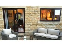 Rosewood UPVC windows and sliding patio doors