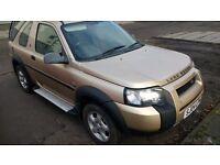 landrover freelander td4 se hatchback turbo diesel 2.0 2004 04 plate 3door