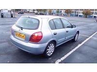 NISSAN ALMERA SE 16V 2005 5DR Hatchback Manual 1.5L Petrol PRICE REDUCED FOR BARGAIN £1195