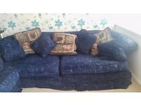 FREE TO COLLECTOR - 3 seater sofa and an armchair - MUST GO BY 28th DEC!!!
