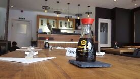 Experienced Waitress Required at Koyama Japanese Restaurant