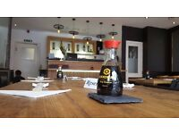 Commis Chef/Kitchen assistant and Waitress needed at Japanese Restaurant