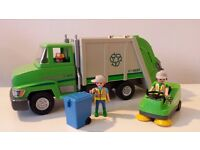 Playmobil Bin Lorry and Road sweep