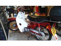 Honda 90 cub,T reg,1999.