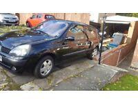 Renault clio 2003 £200-FULL TANK