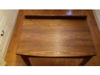 Vintage Oak Writing Desk