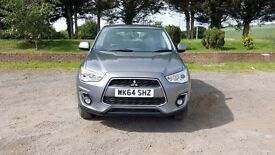 Mitsubishi ASX 1.6 5 doors only 8700 miles and full service history