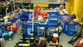 Small Tool And Garage Equipment Auction @ Wilsons Auctions Portadown