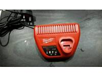 12v milwaukee charger used