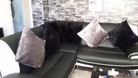 Very large corner sofa
