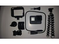 GoPro Hero 5 BLACK with accessories