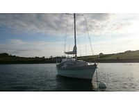 Kent 8mtr Yacht/Motorsailer on the water, recent survey - £6,250 ONO - Price Reduced!