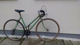 Green Vintage Bike