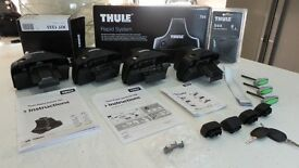 BOXED THULE 754 +1333 + 544 RAPID SYSTEM FOOTPACK KIT-FITS MITSUBISHI GRANDIS FOR ROOF RACK/BARS