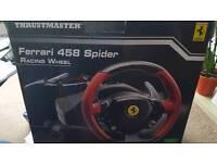 Thrustmaster Ferrari steering wheel
