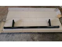 Mitsubishi L200 Rear Bumper Bar Short Bed Black 2007 - 2016