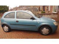 Vauxhall Corsa Club 12V 2002 1.0L Blue
