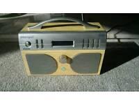 Dab stereo radio