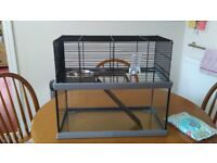 Gerbil Cage and accessories- good condition.