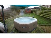 Bubble spa hot tub