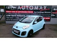 2013 CITROEN C1 VTR 1.0L 3 DOOR HATCH LIGHT BLUE JAN 2018 MOT ONLY 33K NEW SERVICE ZERO TAX CD E/W +