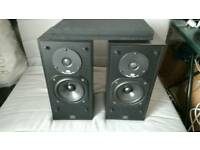 1990 Monitor audio 7 speakers