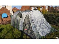 Coleman coastline deluxe 6 berth tent package