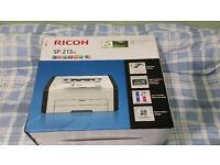 Ricoh SP 213w Wireless A4 Mono Laser Printer - Sealed Boxed - Brand New