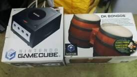 Nintendo gamecube boxed bongos boxed and 24 games