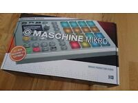 NI Maschine Mikro MKII (Boxed, never used but no software included)