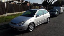 Ford focus st170 silver 3 door 2003/4 mot £495 ono