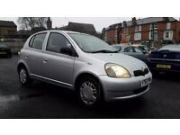 2001 TOYOTA YARIS 1.3 CDX**AUTOMATIC**5 DOOR**10 MONTH M.O.T**