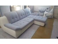 MELLO Delivery 1-10 days Relaxation and comfort Mello brand new corner Sofa bed Leather or Fabric