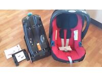 Britax BABY-SAFE PLUS SHR II and ISOFIX BASE excellent condition