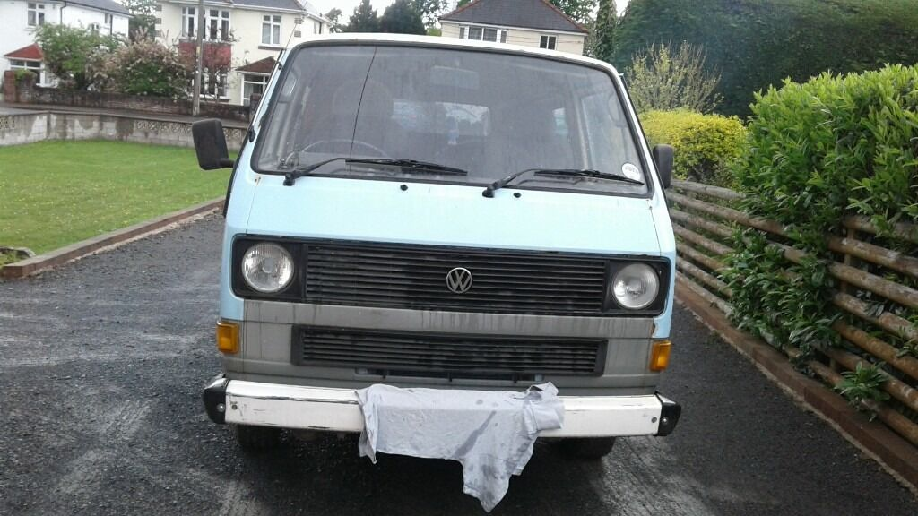 vw t25 unfinished project house move forces sale | in Ammanford ...