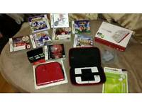 Nintendo 2 DS with games