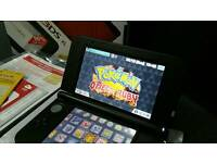 Nintendo 3DS XL 40 games Pokemon omega ruby, mario, zelda
