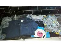 Bundle of mens clothes