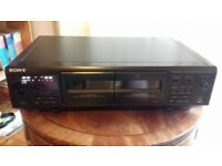 Sony TC-WE405 Twin Stereo Cassette Deck with auto-reverse, good working order