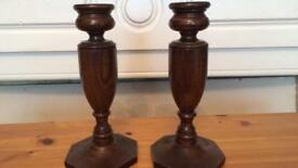Art Deco Candle Sticks