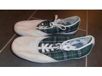 Mens Boxfresh Canvass Shoes Size 8