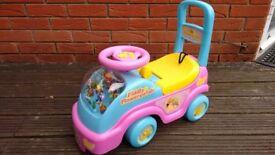 Fifi Flowertots Ride On Car