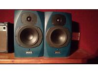 Tannoy active studio monitors speakers