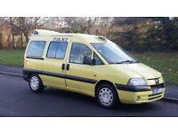 2007 (57) PEUGEOT EXPERT E7 S EURO CAB TAXI WHEELCHAIR MINI BUS M1 HACKNEY
