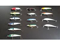 Various lures for spinning collectable