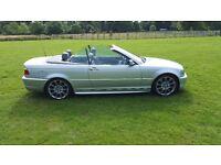BMW 320CD M SPORT CABRIOLET FSH LOW MILEAGE