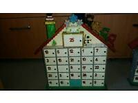 LED Light up children's Advent Calender